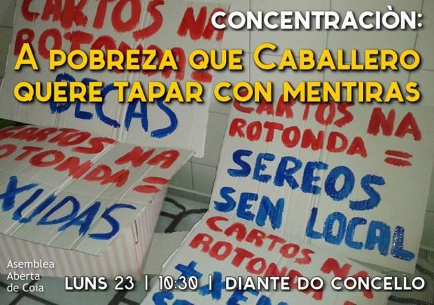 ilcanallarubens_AsambleaAbertaDeCoia_ConcentracionContraAMentira