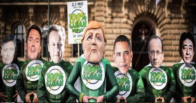 ilcanallarubens_Del G7 a París_Adios Combustibles fosiles_2015