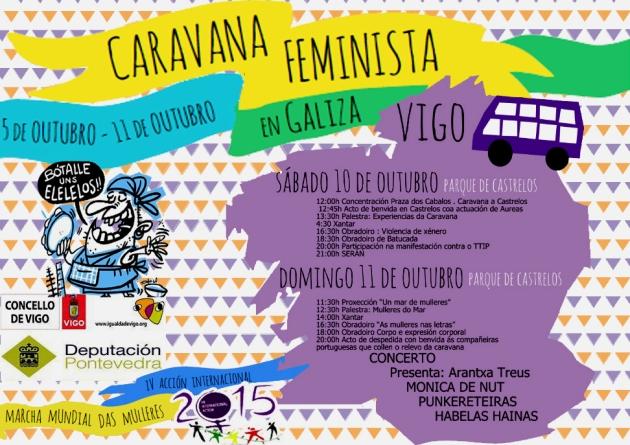 ilcanallarubens_caravana feminista 2015_ Vigo _ Pontevedra