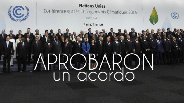 ilcanallarubens_Aproban acordo para loitar contra o cambio climático_2015