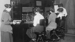 Ao principio, o conector foi usado polos operadores nas antigas centrais telefónicas. (Foto: Getty)