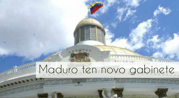 ilcanallarubens_maduro e seu novo gabinete_2016
