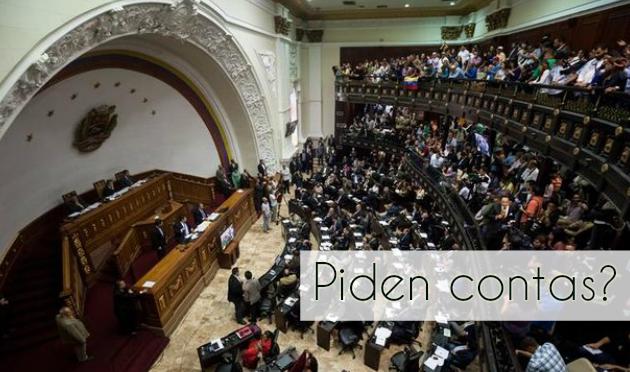 ilcanallarubens_O parlamento venezolano pídelle ao Goberno que renda contas_2016
