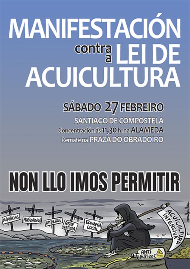 ilcanallarubens_non a lei de acuicultura_Galiza_2016