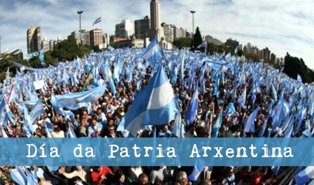 ilcanallarubens_25 de Maio, Dia da Patria Arxentina_2016