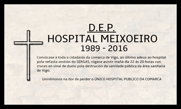 ilcanallarubens_Esquela Hospital Meixoeiro_2016