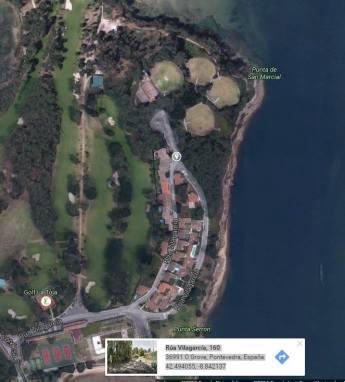 Para os interesados e interesadas lugar de encontro. Cordenadas GPS. Rúa Vilagarcía, 160 36991 O Grove, Pontevedra, España 42.494055, -8.842137