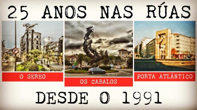 ilcanallarubens_25 anos nas ruas de vigo_os cabalos_o sereo_a porta do atlantico_Vigo_2016