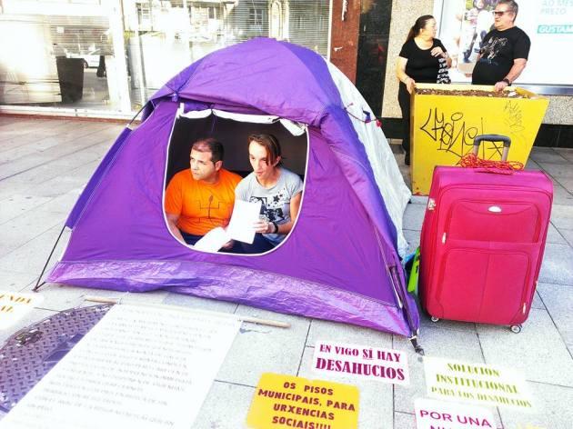 ilcanallarubens_acampada 24h en principe_2016_Vigo
