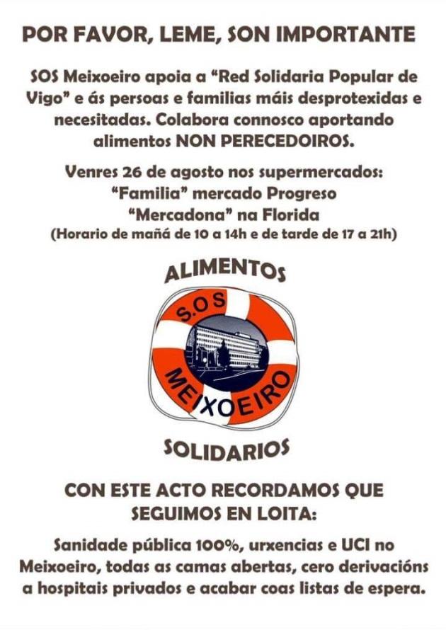 ilcanallarubens_cartaz Sos Meixo_RSP_2016_Vigo