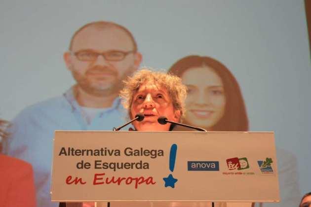 ilcanallarubens_Lídia Senra, eurodeputada de Alternativa Galega de Esquerda en Europa_2014